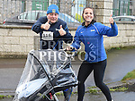 Brian Browning and Sandra who took part in the Duleek & District 5K run. Photo:Colin Bell/pressphotos.ie
