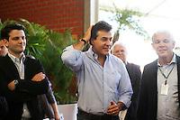 CURITIBA, PR, 08.05.2014 -  HORTIFRUTI 2014 / CURITIBA -  O governador Beto Richa na manhã desta quinta-feira (08) durante abertura da HortiFruti Brasil Show 2014, evento no Ceasa Curitiba.Foto: Paulo Lisboa / Brazil Photo Press)