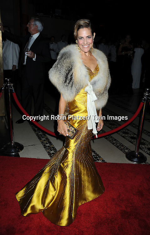 Alexandra Lebenthal arriving at The New Yorkers for Children Fall Gala on September 21, 2010 at Cipriani's 42nd Street.