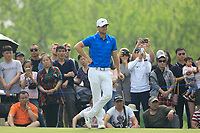 Lucas Bjerregaard (DEN) during the final round of the Volvo China Open played at Topwin Golf and Country Club, Huairou, Beijing, China 26-29 April 2018.<br /> 29/04/2018.<br /> Picture: Golffile | Phil Inglis<br /> <br /> <br /> All photo usage must carry mandatory copyright credit (&copy; Golffile | Phil Inglis)
