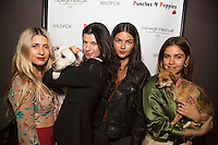 Mimi Elashiry, Natalia Eliza, Amanda Wilkins & Destiny Sierra attend Punches for Puppies: Mowgli Rescue's Fundraiser Event at Wild Card West Boxing Gym & Wildfox Couture (Photo by Tony Ducret/Guest of A Guest)