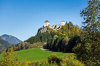 Austria, Styria, St. Gallen: Castle Gallenstein | Oesterreich, Steiermark, St. Gallen: Burg Gallenstein