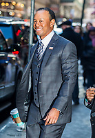 www.acepixs.com<br /> <br /> March 20 2017, New York City'<br /> <br /> Golfer Tiger Woods made an appearance at 'Good morning America' on March 20 2017 in New York City<br /> <br /> By Line: John Peters/ACE Pictures<br /> <br /> <br /> ACE Pictures Inc<br /> Tel: 6467670430<br /> Email: info@acepixs.com<br /> www.acepixs.com