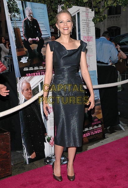 "PELL JAMES.The premiere of her new film, ""Broken Flowers"", at the Chelsea West Cinema in Manhattan, New York, New York.  .July 27th, 2005.Photo Credit: Patti Ouderkirk/AdMedia.full length grey gray dress  .www.capitalpictures.com.sales@capitalpictures.com.© Capital Pictures."