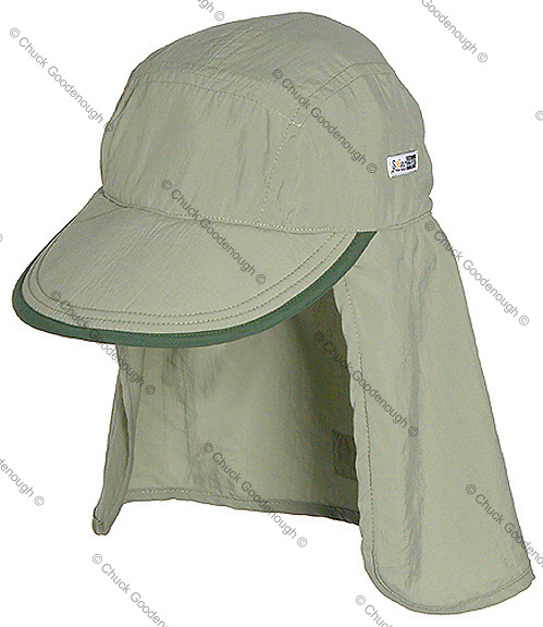 Invisible mannequin Legionnaire Style cap - apparel accessories photography