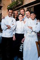 Leopoldo Rigoletti's restaurant Cafe Torino, Santa Fe, Mexico DF