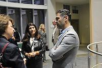 The Harker School - SW - Schoolwide - Harker Speaker Series reception featuring Khalid Hosseini, author of the Kite Runner - Photo by Kyle Cavallaro