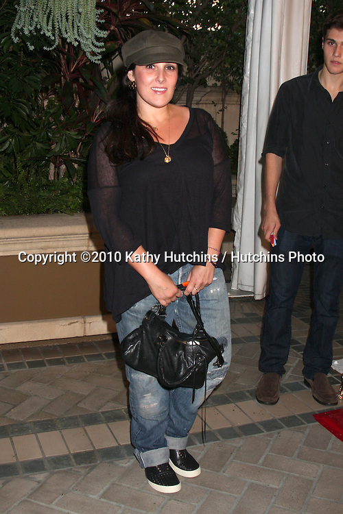 "LOS ANGELES - OCT 11:  Ricki Lake arrives at the 1st Global Creative Forum  ""Evening of Entertainment"". at Four Seasons Hotel Beverly Hills on October 11, 2010 in Los Angeles, CA"