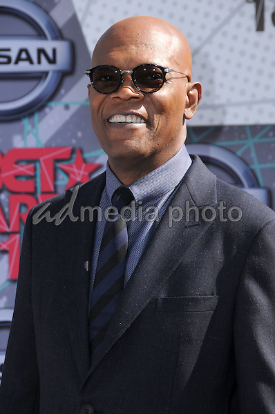 26 June 2016 - Los Angeles. Samuel L. Jackson. Arrivals for the 2016 BET Awards held at the Microsoft Theater. Photo Credit: Birdie Thompson/AdMedia