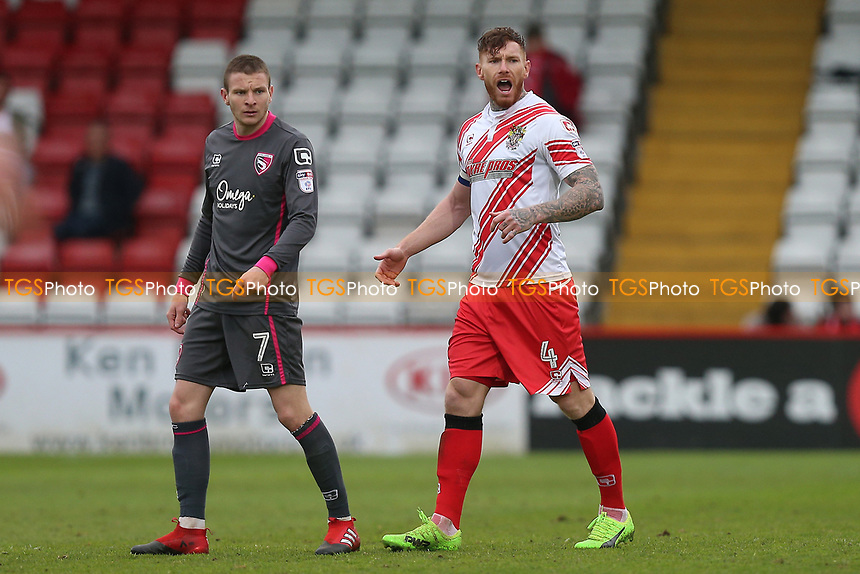 Jack King of Stevenage during Stevenage vs Morecambe, Sky Bet EFL League 2 Football at the Lamex Stadium on 14th April 2017