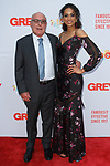Jim Heekin of Grey and Kára McCullough - Miss USA 2017, arrive at the Grey Centennial Gala at Madison Square Park in New York City on May 18, 2017.
