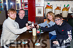 Kenneth O'Sullivan Ballyhar left celebrated his 21st birthday with his parents Brendan and Bernie and brother Sean in Murphy's bar Killarney on Monday evening