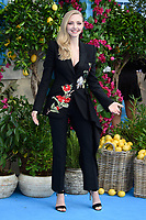 """Amanda Seyfried<br /> arriving for the """"Mama Mia! Here We Go Again"""" World premiere at the Eventim Apollo, Hammersmith, London<br /> <br /> ©Ash Knotek  D3415  16/07/2018"""