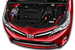 Car Stock 2017 Toyota Verso 50th-Anniversary+-PACK 5 Door Mini MPV Engine  high angle detail view