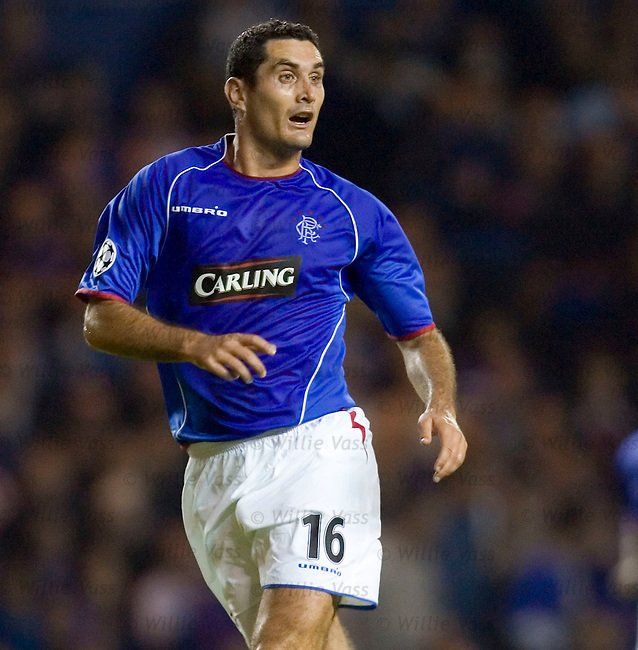 Julien Rodriguez, Rangers.stock season 2005-2006.pic willie vass