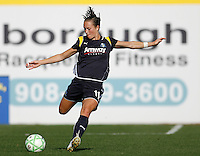 Brittany Bock (11) of the Los Angeles Sol. The Los Angeles Sol defeated Sky Blue FC 2-0 during a Women's Professional Soccer match at TD Bank Ballpark in Bridgewater, NJ, on April 5, 2009. Photo by Howard C. Smith/isiphotos.com