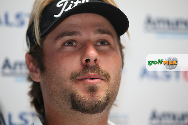 Victor Dubuisson (FRA) during the Media Interviews ahead of the Alstom Open de France from Le Golf National, Guyancourt, Versailles, France. Picture:  David Lloyd / www.golffile.ie