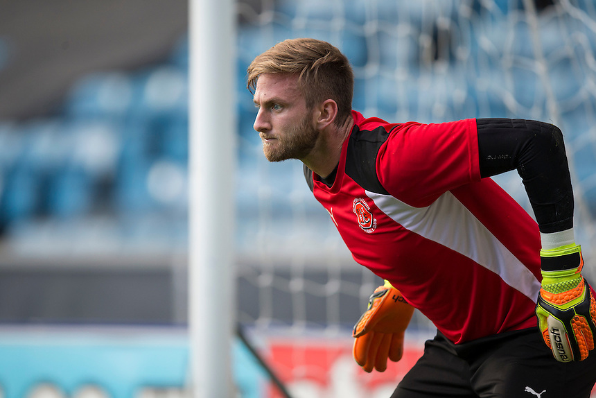 Fleetwood Town's Chris Neal during the pre-match warm-up <br /> <br /> Photographer Craig Mercer/CameraSport<br /> <br /> The EFL Sky Bet League One - Millwall v Fleetwood Town - Saturday 22nd October 2016 - The Den - London<br /> <br /> World Copyright &copy; 2016 CameraSport. All rights reserved. 43 Linden Ave. Countesthorpe. Leicester. England. LE8 5PG - Tel: +44 (0) 116 277 4147 - admin@camerasport.com - www.camerasport.com