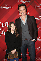 LOS ANGELES, CA - DECEMBER 4: Dylan Neal, daughter Bella Neal, at Screening Of Hallmark Channel's 'Christmas At Holly Lodge' at The Grove in Los Angeles, California on December 4, 2017. Credit: Faye Sadou/MediaPunch /NortePhoto.com NORTEPHOTOMEXICO