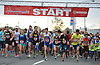The 2016 Long Island Marathon Weekend's 5K race gets underway on Charles Lindbergh Boulevard on Saturday, Apr. 30, 2016.
