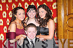 MIX: Gaelcholaiste Chiarrai and CBS The Green held their Debs at The Earl of Desmond Hotel, Tralee, on Thursday night. Attending were Mike McCarthy, Ashley Roche, Donna Kelly and Mairead O'Carroll..