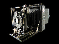 Zeiss Contessa Nettel folding roll film camera