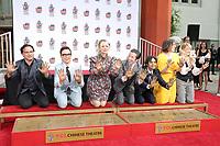 Big Bang Theory Handprint Ceremony