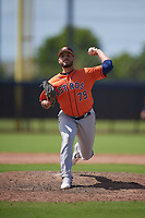 Houston Astros pitcher Jonathan Bermudez (79) during a Minor League Spring Training Intrasquad game on March 28, 2019 at the FITTEAM Ballpark of the Palm Beaches in West Palm Beach, Florida.  (Mike Janes/Four Seam Images)