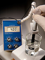 SHIFT IN pH AS BASE IS ADDED TO ACIDIC SOLUTION<br />