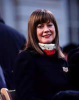 (020101-SWR22.jpg) New York, NY -- Rudy Giuliani's girlfriend Judi Nathan, who later became Giuliani's third wife,  at the formal inauguration of New York City Mayor Mike Bloomberg.
