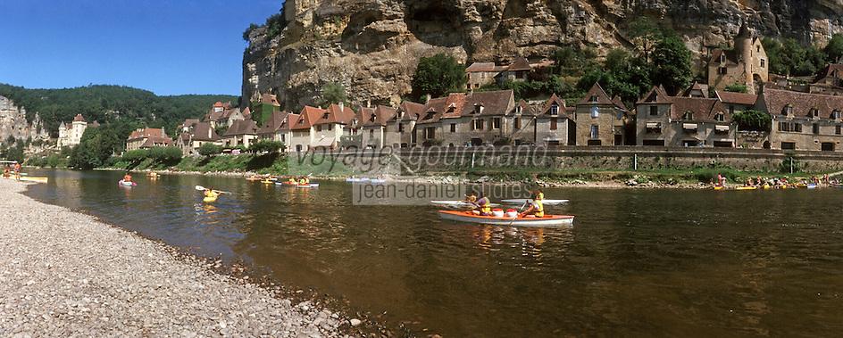 Europe/France/Aquitaine/24/Dordogne/La Roque Gageac: Navigation fluviale