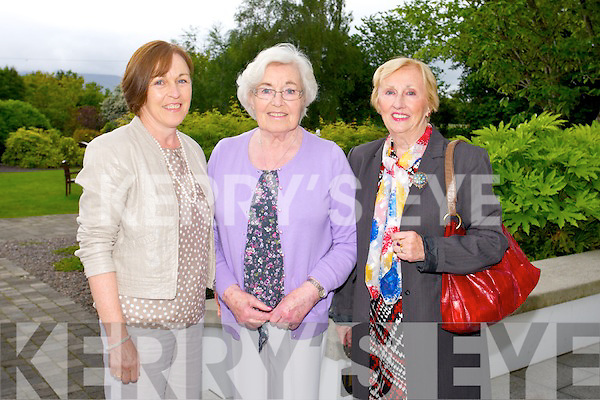 Vivian Nolan, Pauline O'Shea and Ann Fitzgerald from Tralee at the Big Bus BBQ in aid of Keerry Cancer Support Group in the Pavillon Ballygary House Hotel on Sunday