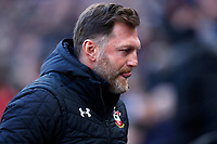 29th February 2020; London Stadium, London, England; English Premier League Football, West Ham United versus Southampton; Southampton Manager Ralph Hasenhuttl  looking towards the dugout kick off