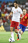Georgia's Abujarnia during the up match between Spain and Georgia before the Uefa Euro 2016.  Jun 07,2016. (ALTERPHOTOS/Rodrigo Jimenez)