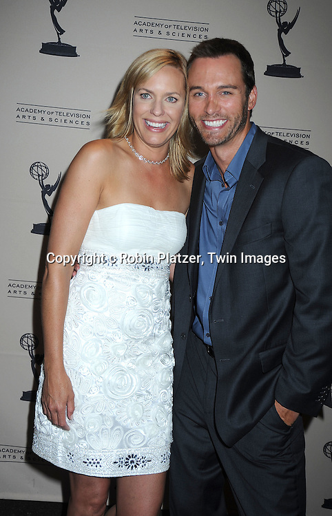 Arianne Zucker and Eric Martsoff attending the TV Academy's Daytime Programming Peer Group Cocktail Reception in honor of the 2010 Daytime Emmy Awards Nominees on .June 24, 2010 at SLS Hotel at Beverly Hills, California.