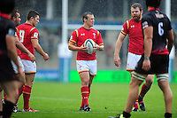 Jarrod Evans of Wales U20 in possession. World Rugby U20 Championship match between Wales U20 and Georgia U20 on June 11, 2016 at the Manchester City Academy Stadium in Manchester, England. Photo by: Patrick Khachfe / Onside Images