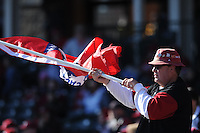 NWA Democrat-Gazette/ANDY SHUPE<br /> Arkansas Bryant Saturday, Feb. 25, 2017, during the inning at Baum Stadium in Fayetteville. Visit nwadg.com/photos to see more photographs from the game.