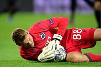 6th November 2019, Paris France; UEFA Champions league football, Paris St German versus Brugges;   Simon Mignolet Bruges makes a save