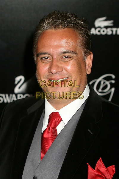 EDUARDO CASTO.9th Annual Costume Designers Guild Awards Gala at the Regent Beverly Wilshire Hotel, Beverly Hills, California, USA,17 February 2007..portrait headshot red tie.CAP/ADM/BP.©Byron Purvis/AdMedia/Capital Pictures.