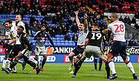 Bolton Wanderers' Jack Hobbs celebrates scoring his side's first goal   <br /> <br /> Photographer Andrew Kearns/CameraSport<br /> <br /> The EFL Sky Bet Championship - Bolton Wanderers v Reading - Tuesday 29th January 2019 - University of Bolton Stadium - Bolton<br /> <br /> World Copyright © 2019 CameraSport. All rights reserved. 43 Linden Ave. Countesthorpe. Leicester. England. LE8 5PG - Tel: +44 (0) 116 277 4147 - admin@camerasport.com - www.camerasport.com