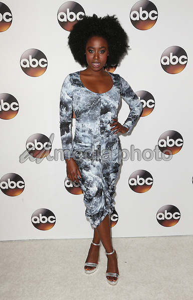 10 January 2017 - Pasadena, California - Kirby Howell-Baptiste. Disney ABC Television Group TCA Winter Press Tour 2017 held at the Langham Huntington Hotel. Photo Credit: F. Sadou/AdMedia