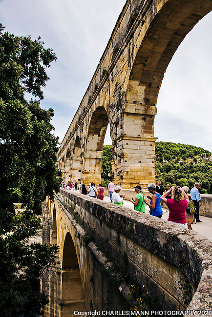 A magnificent 160 foot high Roman aqueduct near the town of Remoulins, the Pont du Gard is the second most visited attraction in France.