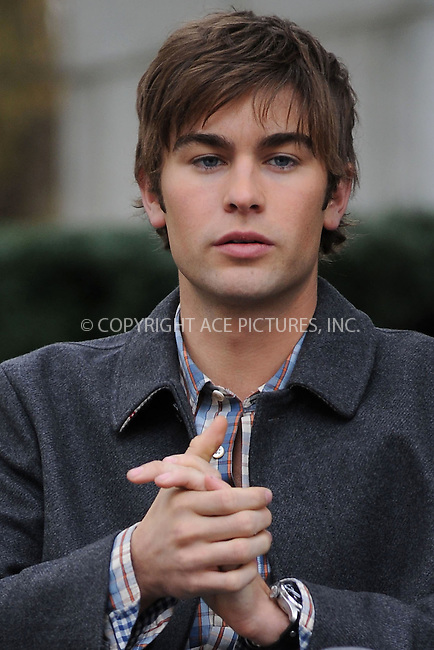 WWW.ACEPIXS.COM . . . . . ....October 14 2009, New York City....Actor Chace Crawford on the set of the TV show 'Gossip Girl' on October 14 2009 in NewYork City....Please byline: KRISTIN CALLAHAN - ACEPIXS.COM.. . . . . . ..Ace Pictures, Inc:  ..tel: (212) 243 8787 or (646) 769 0430..e-mail: info@acepixs.com..web: http://www.acepixs.com