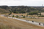 Action from Stage 17 of the 2017 La Vuelta, running 180.5km from Villadiego to Los Machucos. Monumento Vaca Pasiega, Spain. 6th September 2017.<br /> Picture: Unipublic/&copy;photogomezsport | Cyclefile<br /> <br /> <br /> All photos usage must carry mandatory copyright credit (&copy; Cyclefile | Unipublic/&copy;photogomezsport)