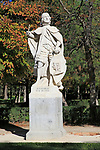 Statue of King Sancho IV of Castile died 1295, El Retiro Park, Madrid, Spain
