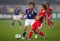 (L to R) Asuna Tanaka (JPN), Qu Shanshan (CHN), September 11, 2011 - Football / Soccer : Women's Asian Football Qualifiers Final Round for London Olympic Match between Japan 1-0 China at Jinan Olympic Sports Center Stadium, Jinan, China. (Photo by Daiju Kitamura/AFLO SPORT) [1045]