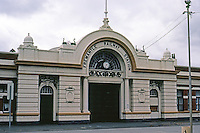 "Fremantle: Railway Station, circa 1906. by ""Dartnell"". ""Elements derived from the great exhibitions of Victorian Europe"".  Photo '82."
