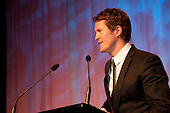 Scott Dixon accepts the Sportsman of the Year award. Counties Manukau Sport  Sporting Excellence Awards held at TelstraClear Pacific Events Centre, Manukau City, on December 10th, 2009.