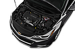 Car Stock 2018 Chevrolet Cruze LT-Auto 4 Door Sedan Engine  high angle detail view