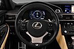 Car pictures of steering wheel view of a 2017 Lexus RC F-SPORT-Line 2 Door Coupe Steering Wheel